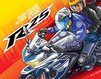 Yamaha R25 Posters