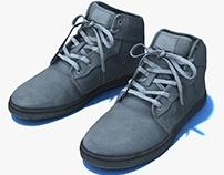 Generic sneakers pbr