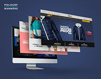 Home Completa para Ecommerce - Banners - POLOGRF