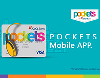 POCKETS - MOBILE APP UX Issues (Project)