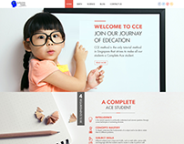 CCE Homepage Design