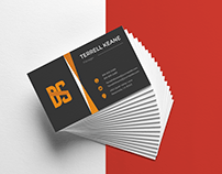 A Double Part Business Card in Adobe Illustrator