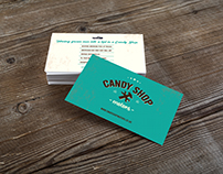 Candy Shop Motors Logo & Business Card
