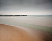 -Breakwater ,Baltic sea-Minimal-