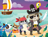 Scurvy Pirate dogs!