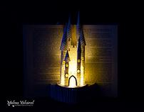 Castle - Book Sculpture