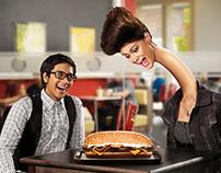 Burger King - Xtra Long Cheese Supreme