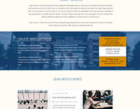 SSIG Group website design