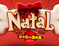Natal Dog In Box Pet Center