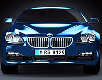 BMW Coupe i6 Series // CGI Visuals