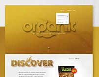 Asda | Organic Range UI