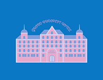 The Grand Budapest Hotel - Motion Graphic