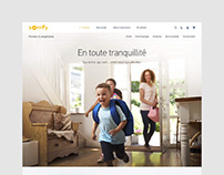 SOMFY • INTERACTIVE ART DIRECTION B2C WEBSITE