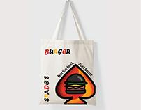 Spade Burger Brand Extensions