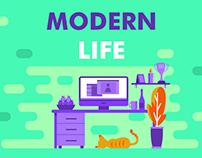Modern Life / Illustration
