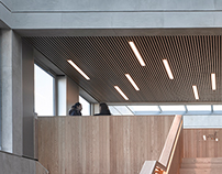 Lancaster University Engineering Building. John McAslan