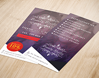 Leaflet for Beauty studio