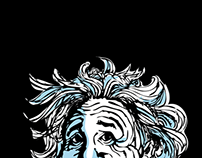 Einstein Sketchy Caricature