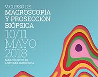 Diseño Campaña Curso de Macroscopía Hospital Vitas