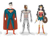 Justice League Lineup