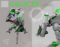 """GALACTIC Robot """"UTOCNIK"""" Game"""
