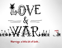 "Series Artwork ""Love & War"""