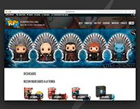 Funko Pop Store | Diseño Web