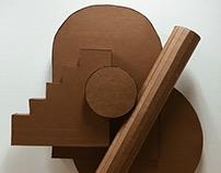 3D Cardboard Sculpture