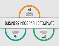 Download Modern Business Infographics Poster Free