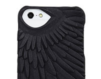 Swan pattern for Fierce Forms phone cases