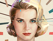 Grace Kelly Portrait