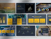 Qivora - Professional Infographic Statistic PPT