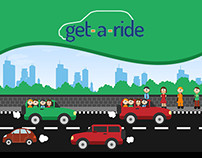 Get-A-Ride | The Animated Story Of Car Pooling