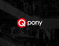Qpony // Rebranding, Logo, Commercials, CI