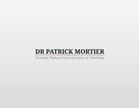 """Website for """"Dr Mortier"""""""