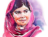 Portrait- Malala