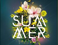 Summer Party | Psd Flyer Template