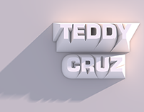 Teddy Cruz Lecture Poster