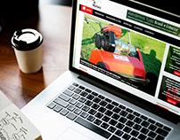 Criação de Site Institucional para PIC FIBRAS E METAIS