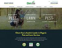 Chem-free Website Redesign
