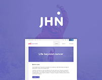 JHN // Informative Landing Page.