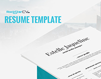 Resume Template Estelle