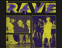 Rave culture of 90's