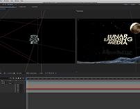 Lunar landing media