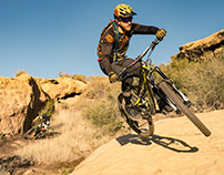 Riding Rocky Peak