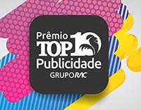 Logo / Selo - Prêmio TOP10 Publicidade - Grupo RAC