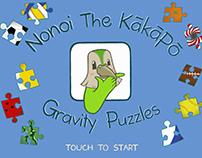 Nonoi The Kakapo: Gravity Puzzles