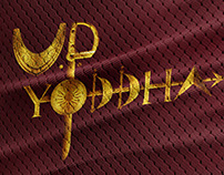 Sports Branding | Up Yoddha