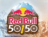 Red Bull 50/50 Logo & Poster