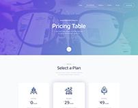 Social Media Marketing website Design concept